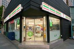 ночной магазин 7-Eleven Стоковое Изображение