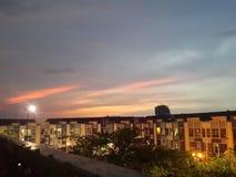 Ночные небеса Стоковое фото RF