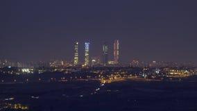 Ночь в городе стоковая фотография
