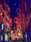 ночь в Швейцарии стоковые фото