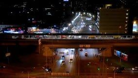 Ночь Киев Hypeps сток-видео