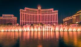 Ноябрь 2017 Лас-Вегас Невада - сцены вокруг курорта h bellagio Стоковые Фото