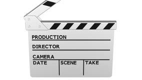 Нумератор с хлопушкой кино перевод 3d бесплатная иллюстрация