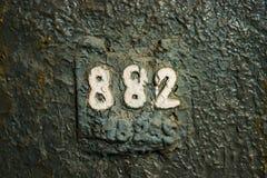 Нумерология или волшебство чисел 882 Стоковые Фото