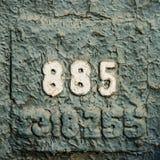 Нумерология или волшебство чисел 885 Стоковые Фотографии RF