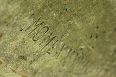 нумерует римское стоковое изображение