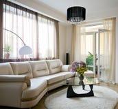 нутряная живущая комната Стоковые Фото