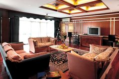 нутряная живущая комната Стоковое фото RF