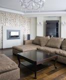 нутряная живущая комната Стоковое Фото