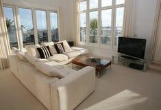 нутряная живущая роскошная комната Стоковое Изображение