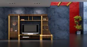 нутряная комната салона Стоковое Изображение