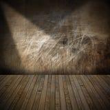 Нутряная комната Grunge иллюстрация вектора