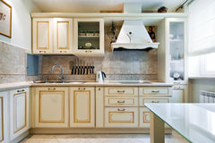нутряная кухня новая Стоковое Изображение RF
