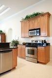 нутряная кухня самомоднейшая Стоковая Фотография RF