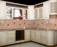 нутряная кухня самомоднейшая Стоковые Изображения RF
