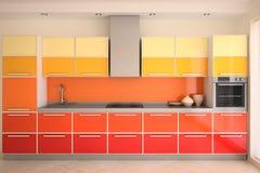 нутряная кухня Стоковое Изображение