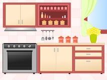 нутряная кухня Стоковые Фото