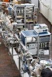 нутряная лаборатория ядерная стоковая фотография rf