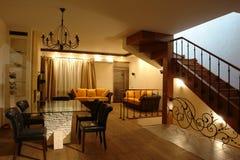 нутряная лестница комнаты стоковое изображение