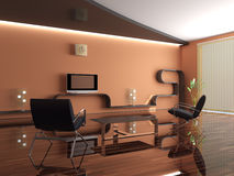 нутряная новая комната Стоковое фото RF