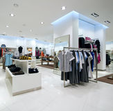 нутряная покупка мола Стоковое Изображение RF