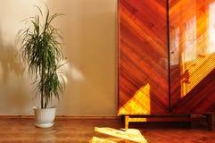 нутряная ретро стена Стоковая Фотография RF