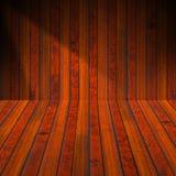 Нутряная старая деревянная комната бесплатная иллюстрация