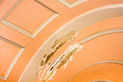 нутряное шелушение краски Стоковое Изображение