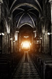 Зловещий готский собор Стоковое Фото