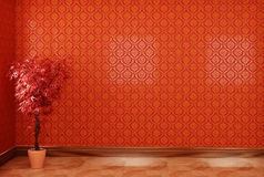 нутряной красный цвет Стоковая Фотография RF
