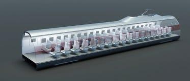 нутряной поезд Стоковое Изображение RF