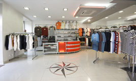 нутряной самомоднейший магазин Стоковое Изображение