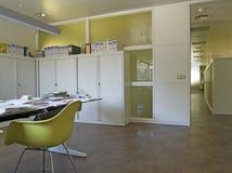 нутряной самомоднейший офис Стоковые Фото