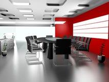 нутряной самомоднейший офис 3d иллюстрация штока