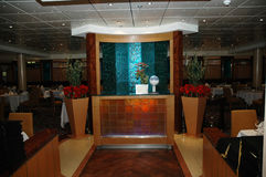 нутряной самомоднейший ресторан Стоковые Изображения RF