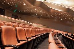 нутряной самомоднейший театр Стоковое Изображение RF