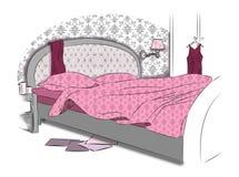 нутряной спать комнаты Стоковые Изображения RF