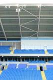 нутряной стадион футбола Стоковая Фотография