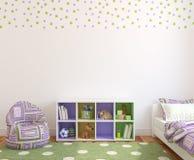 нутряной playroom Стоковое фото RF