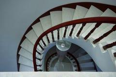 Нутряные лестницы стоковое фото rf