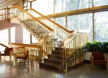 нутряные лестницы Стоковая Фотография