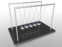 ньютон s вашгерда шариков иллюстрация вектора