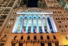 Нью-йоркская биржа Стоковое Изображение