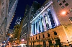 Нью-йоркская биржа стоковая фотография