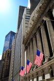 Нью-йоркская биржа Wallstreet Стоковые Фото