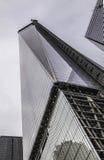 Нью-Йорк - башня свободы под конструкцией Стоковое Фото