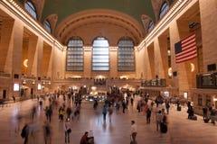 Нью-Йорк большое центральное Termina стоковые изображения rf