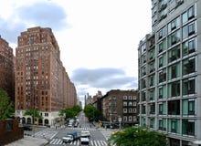 Нью-Йорк - взгляд от высокой ветки Стоковые Фотографии RF