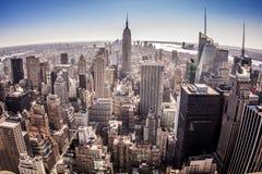 Нью-Йорк в США Стоковая Фотография