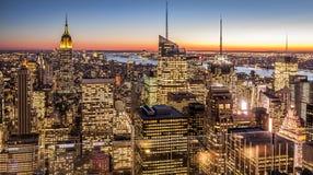 Нью-Йорк в США Стоковая Фотография RF